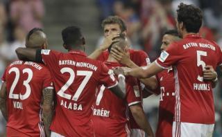 Bayern Múnich aplastó 6-0 al Bremen en inicio de Bundesliga