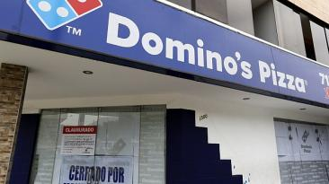 Domino's Pizza abrió primer local con presidente de la compañía