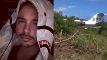 J Balvin: avión privado que trasladaba a colombiano se estrelló