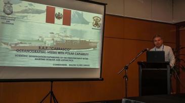 Peruanos presentaron en Malasia estudios sobre la Antártida