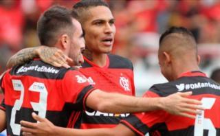 Con Paolo Guerrero: Flamengo ganó 3-1 a Chapecoense en Brasil