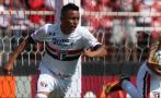 Christian Cueva: Sao Paulo FC vs. Coritiba por fútbol de Brasil