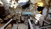 Terremoto en Italia: Así lucen las iglesias y los cementerios