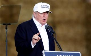 """Trump quiere que su partido sea """"hogar del voto afroamericano"""""""