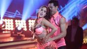 """""""El gran show"""": Melissa Paredes impacta con baile de salsa"""