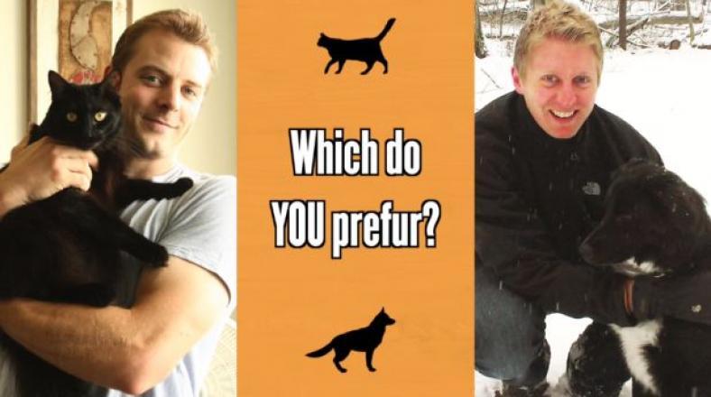 Un video compara las vidas de los dueños de gatos y perros