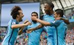 Manchester City derrotó 3-1 a West Ham en Etihad Stadium