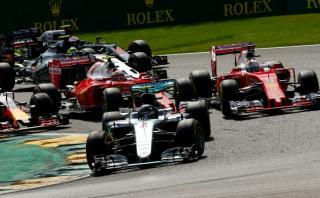 Fórmula 1: Nico Rosberg ganó un accidentado GP de Bélgica