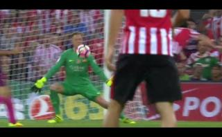 Barcelona: Ter Stegen reparó error atajando con la cara [VIDEO]