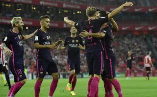 Barcelona: Ivan Rakitic anotó tras 22 toques del equipo catalán
