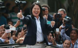 Encuesta GFK: Keiko Fujimori alcanza 47% de aprobación