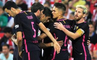 Barcelona venció 1-0 al Athletic Club por la Liga española