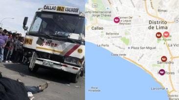 Las zonas más peligrosas para los peatones [MAPA]