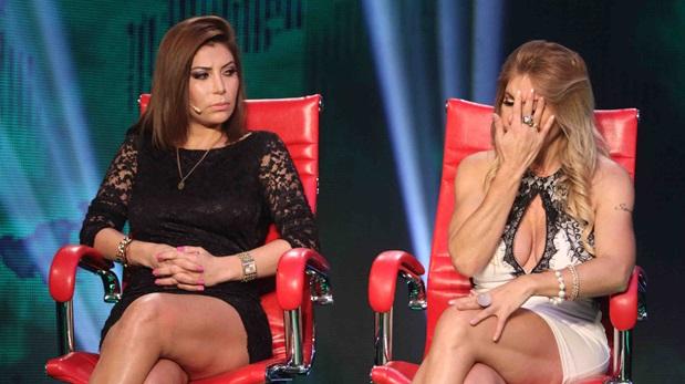 Milena Zárate y Geni Alves en