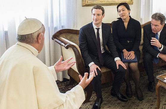 Mark Zuckerberg visita al papa Francisco en el Vaticano [FOTOS]