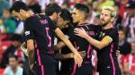 Barcelona venció 1-0 al Athletic Club por la Liga española - Noticias de jose cespedes