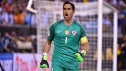 Selección chilena: Claudio Bravo se bajó de la convocatoria