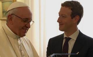 Papa conversa con Zuckerberg sobre cómo ayudar a los pobres