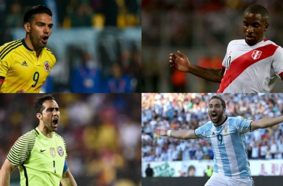 Eliminatorias Rusia 2018: las ausencias notables en fecha doble