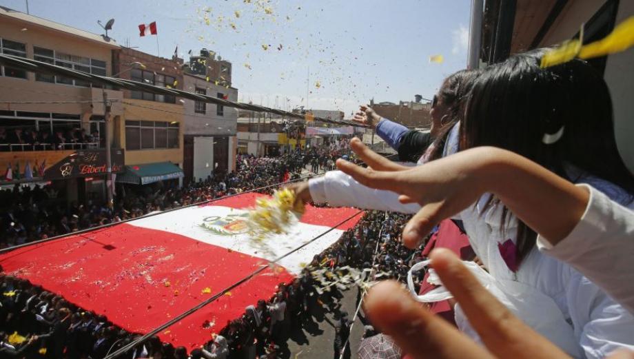 Así conmemoró Tacna 87 años de reincorporación al Perú
