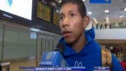 Selección: Edison Flores llegó para unirse a la blanquirroja