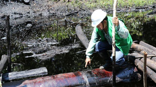 Loreto: todavía no limpian zona afectada por derrame de crudo