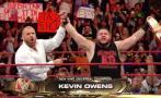 WWE: Kevin Owens es nuevo Campeón Universal gracias a Triple H