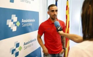 """Alcácer: """"Jugar con Messi, Neymar y Suárez será un privilegio"""""""