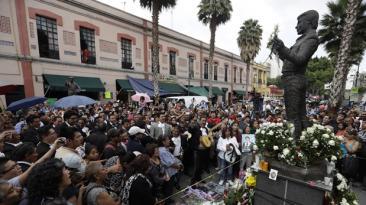 Juan Gabriel: confirman que restos del cantante fueron cremados