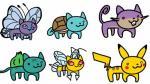 Mira en Facebook a los 151 pokémones encarnados en un gato - Noticias de christopher vanghele