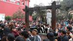 Santa Rosa de Lima: miles visitan el convento [FOTOS y VIDEO] - Noticias de union santa rosa