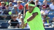 US Open: Del Potro ganó a Schwartzman y avanzó a segunda ronda