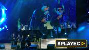 Nicky Jam e invidente peruano cantaron a dúo en show [VIDEO]