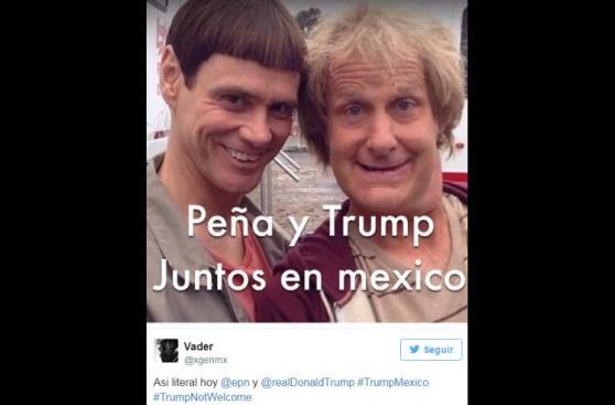 Ola de burlas en Facebook por reunión entre Peña Nieto y Trump