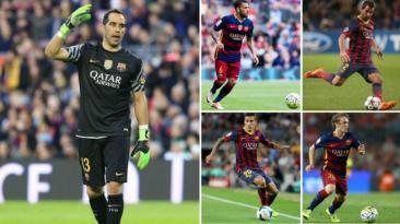 Barcelona: los 13 jugadores que dejaron el club en este mercado