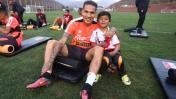 Guerrero cumplió sueño de niño cusqueño que se metió a práctica