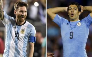 Messi supera a Suárez en Twitter previo al Argentina-Uruguay
