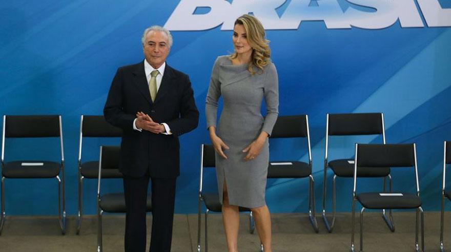 Marcela Temer, la nueva primera dama de Brasil [PERFIL]
