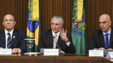 Así asumió Temer la presidencia de Brasil tras salida de Dilma