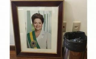 Brasil: Retiran retratos de Rousseff del palacio de Planalto