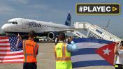 Las cifras del histórico vuelo comercial entre EE.UU. y Cuba