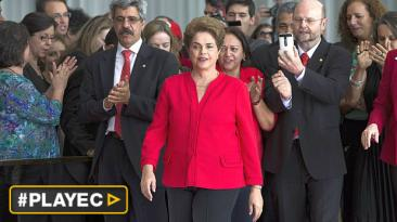 "Dilma Rousseff: ""Esta historia no acaba así, volveremos"""
