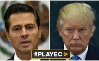 """Peña Nieto aclara: """"Dije a Trump que México no pagará el muro"""""""