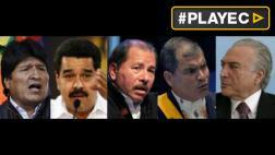 Presidentes latinos cerraron filas ante destitución de Rousseff