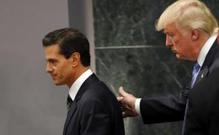 """Peña: """"Algunas posiciones de Trump son una amenaza para México"""""""