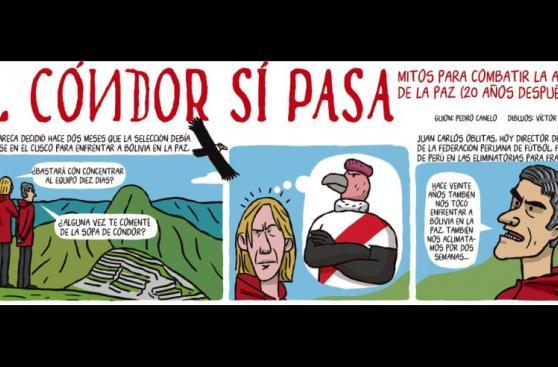 Perú-Bolivia: la historia de la Sopa de Cóndor en versión cómic