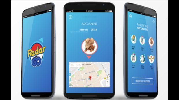 Pokémon Go: Radar Go te da la ubicación exacta de los pokémones