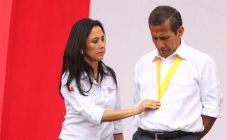 Investigación a Nadine Heredia podría alcanzar a Ollanta Humala