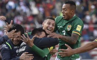 Bolivia abrió el marcador ante Perú con golazo de tiro libre