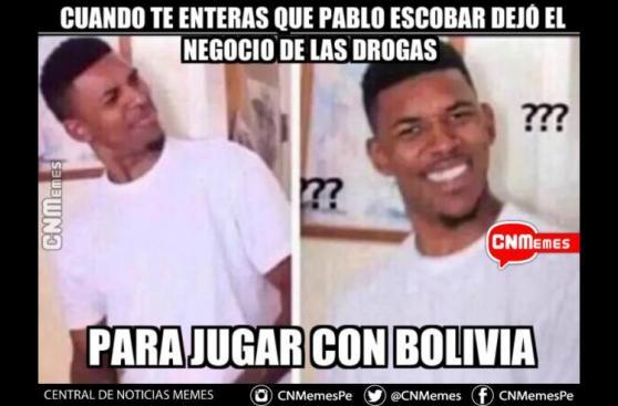 Perú vs. Bolivia: los mejores memes que dejó el duelo en la Paz